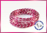 Aludraht Diamant Look 2mm x 5m  PINK