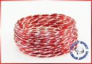 Aludraht Diamant Look 2mm x 5m ROT