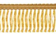 Haarfransen selbstklebend gold 40 mm