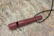 Hundepfeife aus Amaranth Holz