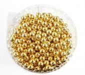 Perlen GOLD METALLIC 10mm 115 Stück