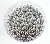 Perlen SILBER METALLIC 10mm 115 Stück