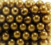 Perlen GOLD 10mm 120 Stück