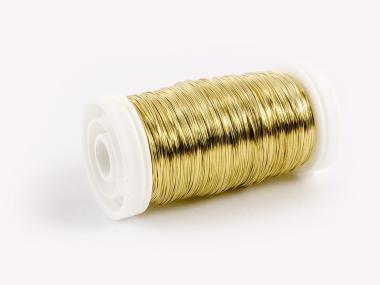 Draht GOLD 0,3mm 100g