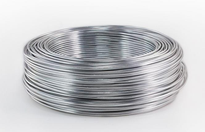 Aluminium - Draht 2mm x 118m PREMIUM  SILBER 1000g Sparpack