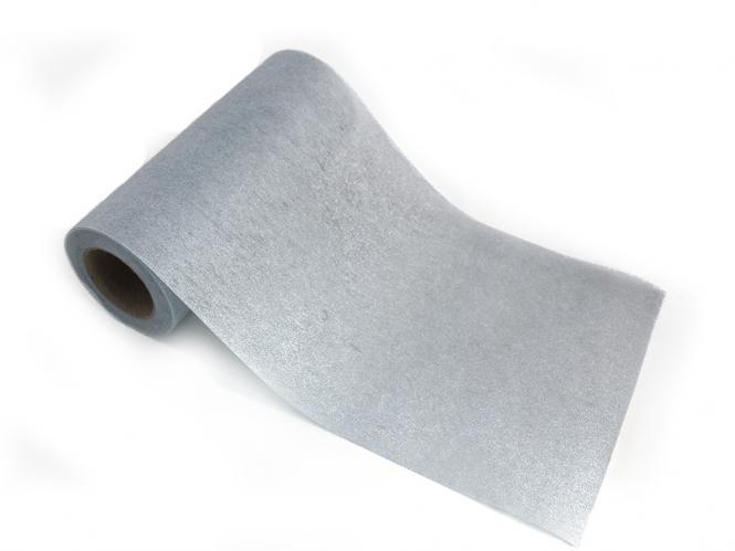 shop dekoblumen tischband vlies 20m silber 30cm ihr. Black Bedroom Furniture Sets. Home Design Ideas
