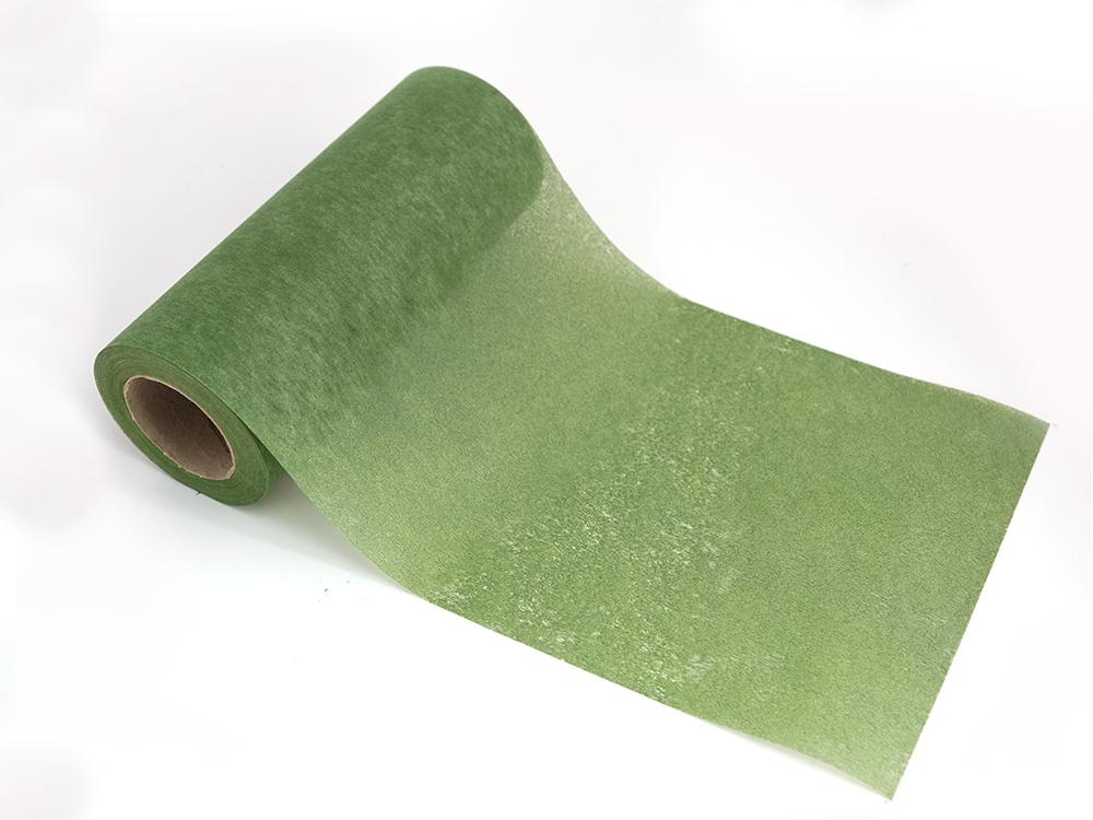 shop dekoblumen tischband vlies 20m gr n 15cm ihr shop. Black Bedroom Furniture Sets. Home Design Ideas