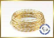 Aludraht Diamant Look 2mm x 5m  GOLD