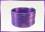 Aludraht NEON LOOK LILA 4,5mm x 9m Sparpack