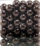Perlen BRAUN 14mm 72 Stück
